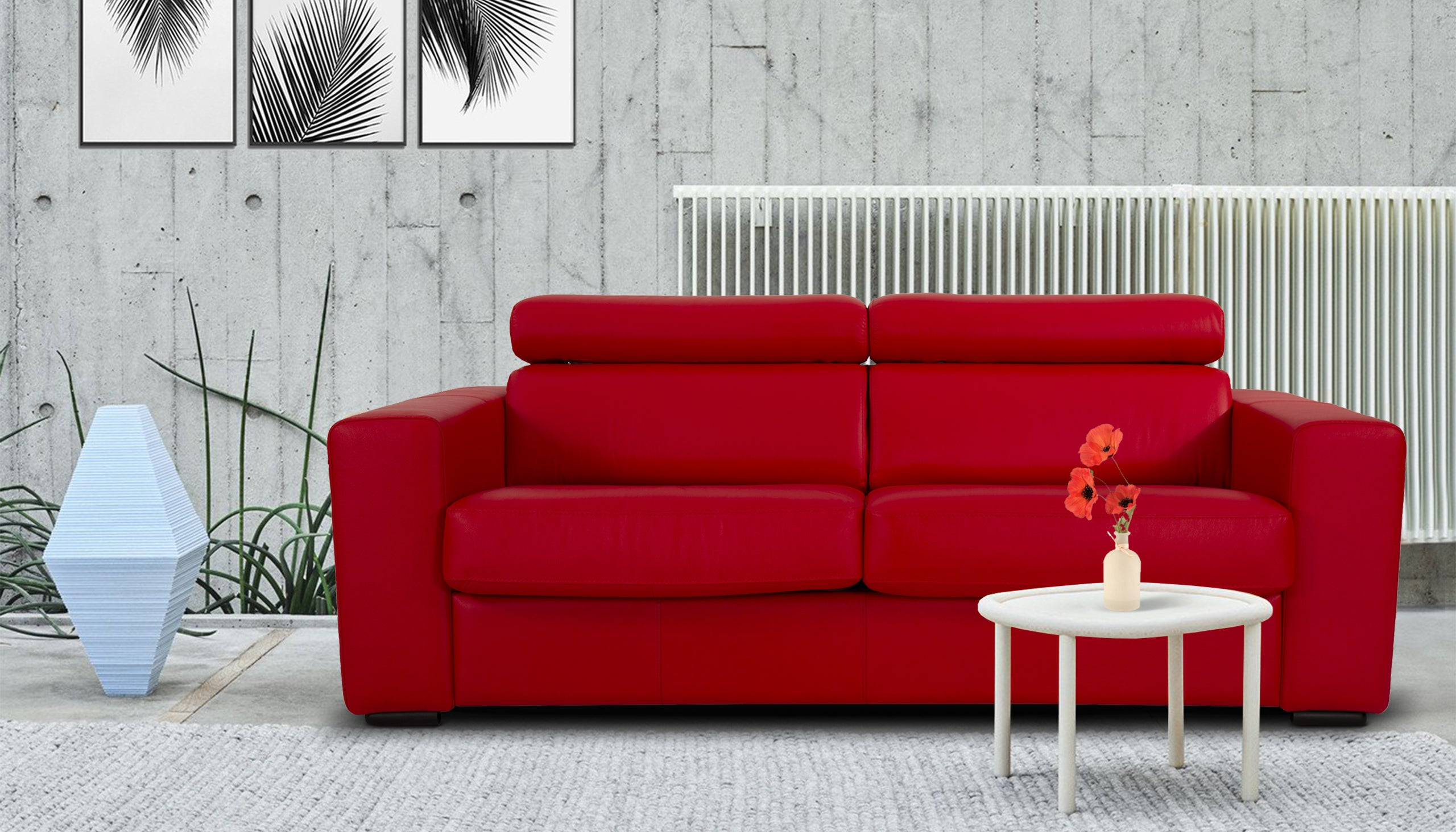 Enzo 3 Seater Sofa Bed