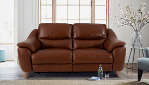 Francis 3 Seater Power Recliner Sofa