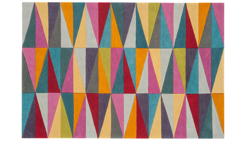 Funk Triangles Rug