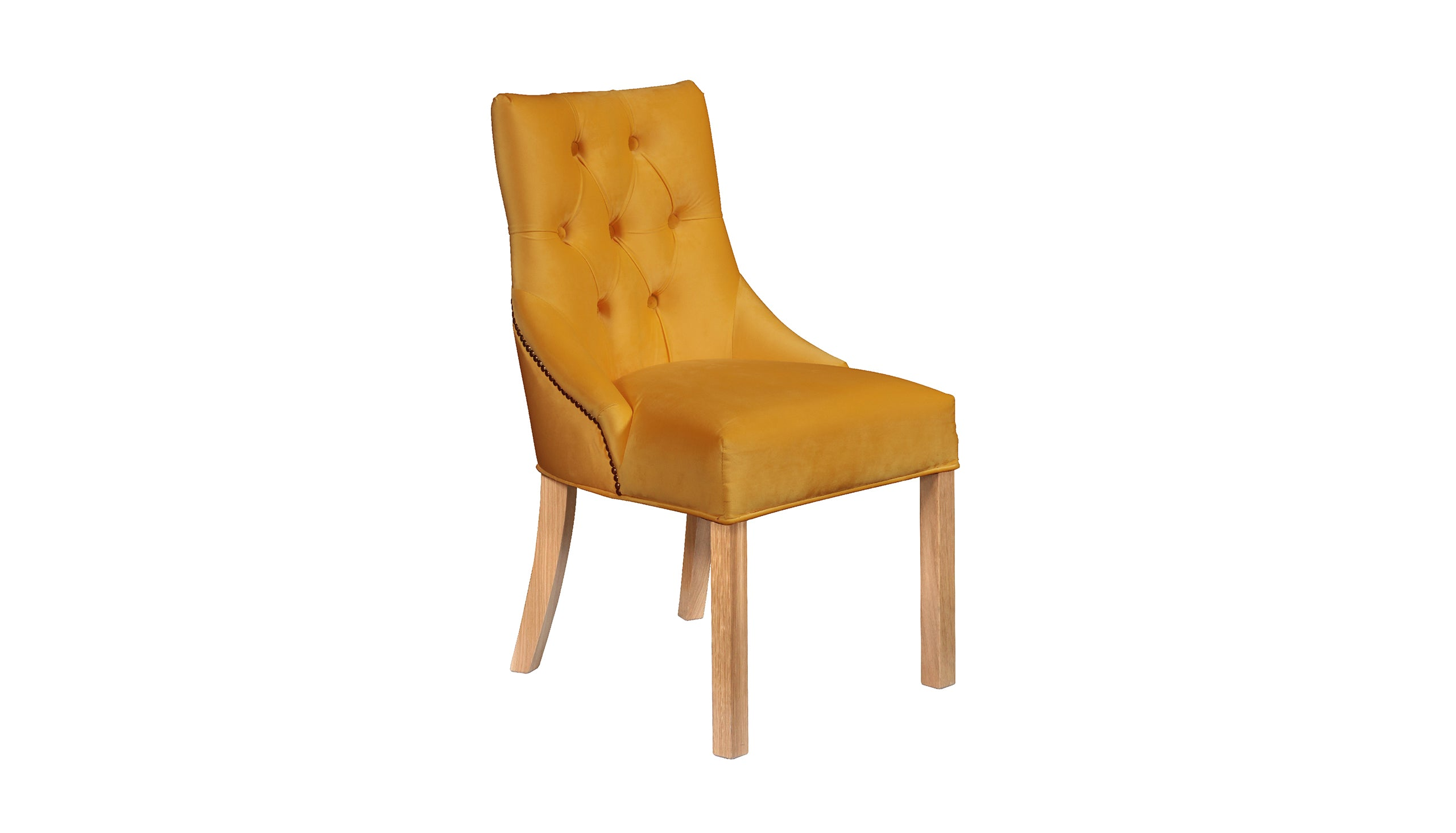 Hudson Classic Chair in Mustard
