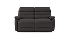 James 2 Seater Power Recliner Sofa in Leather