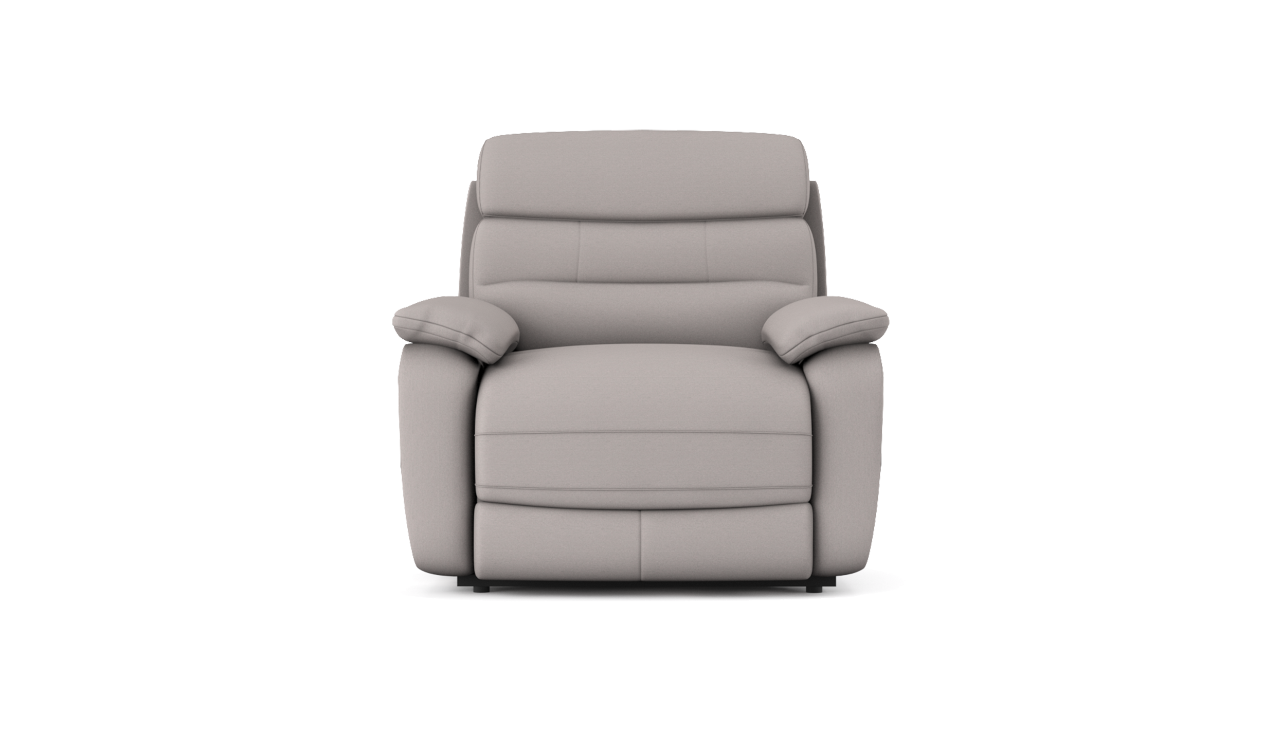 James Power Recliner Chair with Power Headrest in Fabric