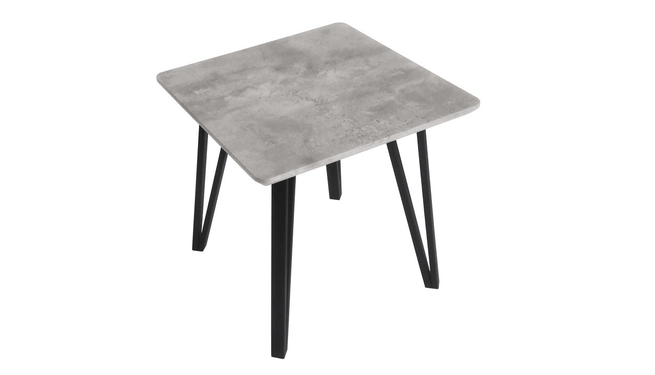 Tetro Concrete Effect Side Table