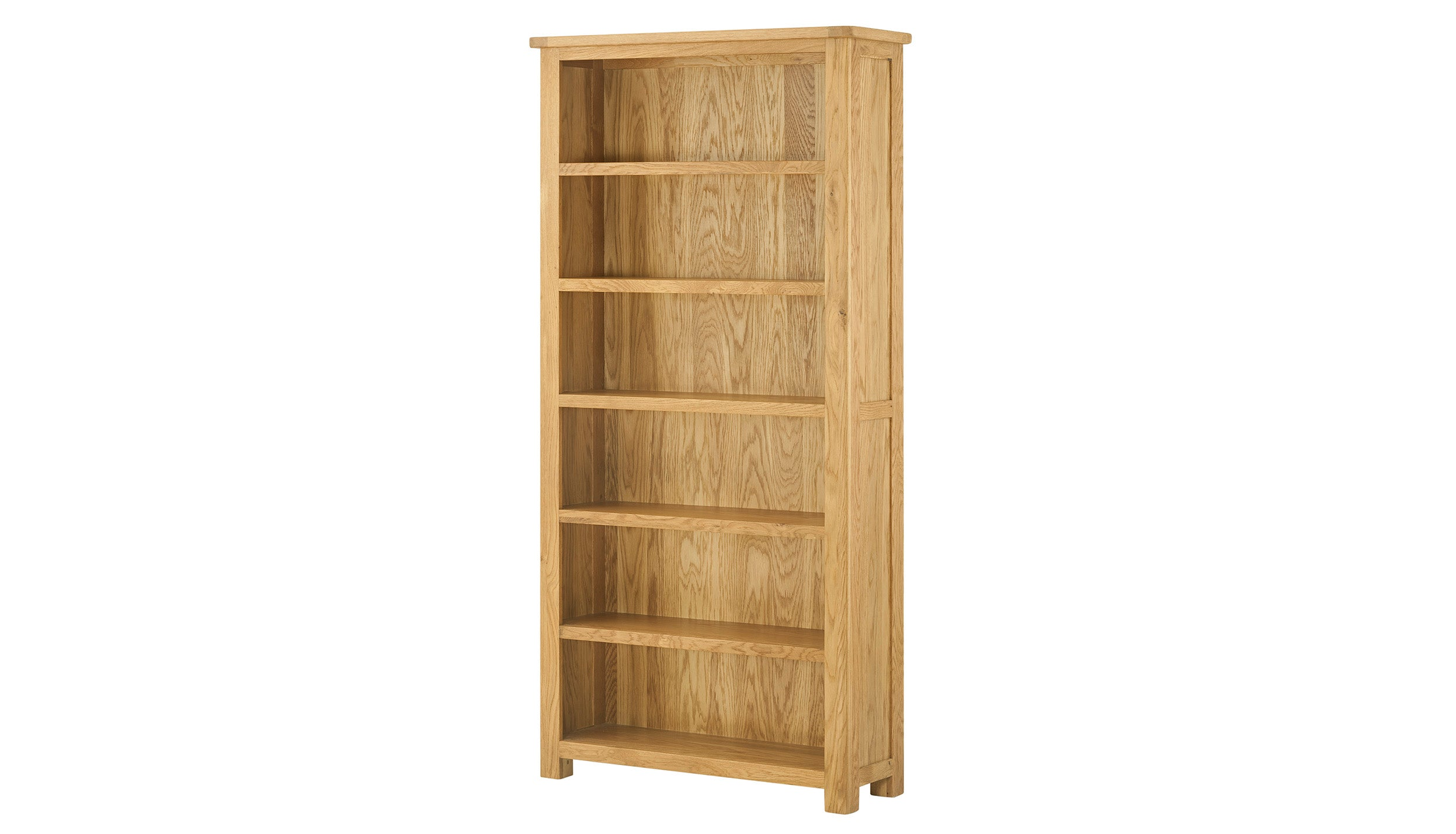 Arlington Oak Large Bookcase