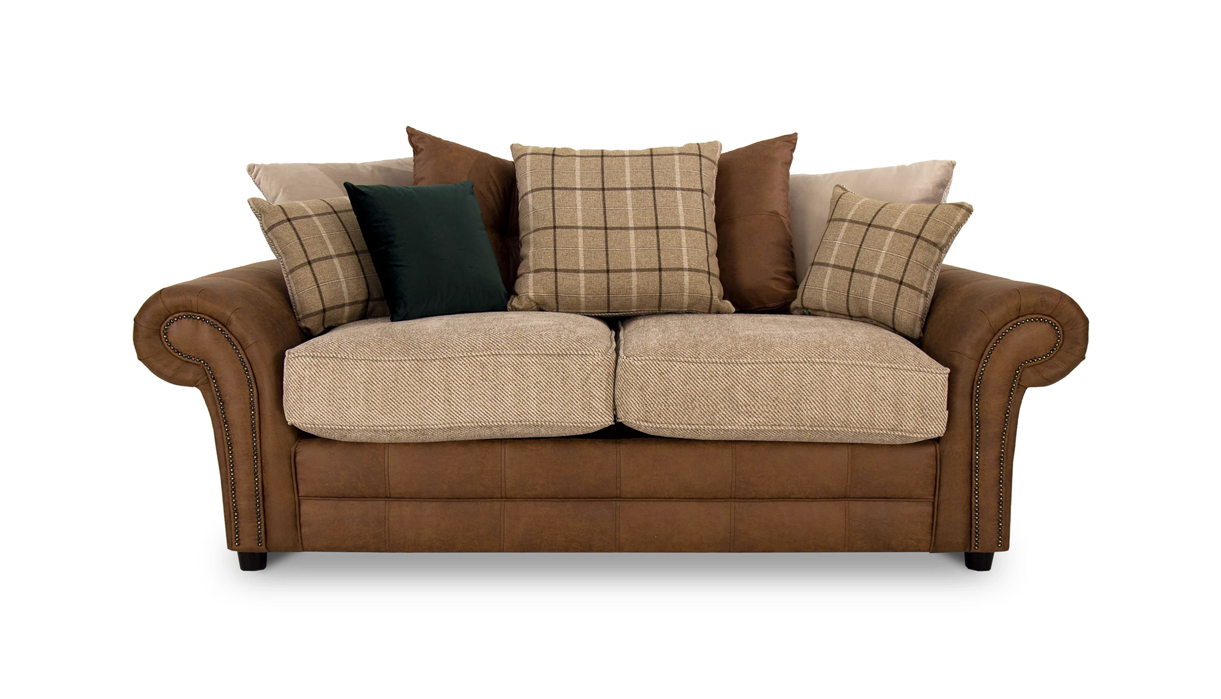 Marshall 3 Seater Scatter Back Sofa Bed