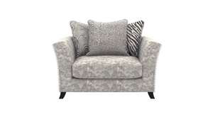 Rendezvous Scatter Back Cuddler Chair