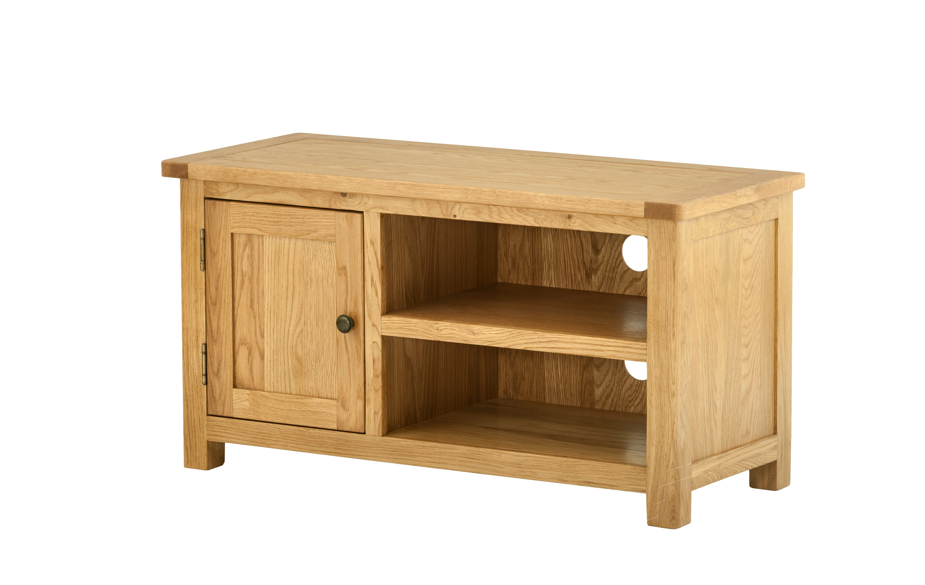 Arlington Oak Small TV Unit