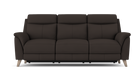 Sienna 3 Seater Power Recliner Sofa in Fabric