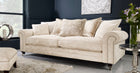 Romance 3 Seater Standard Back Sofa