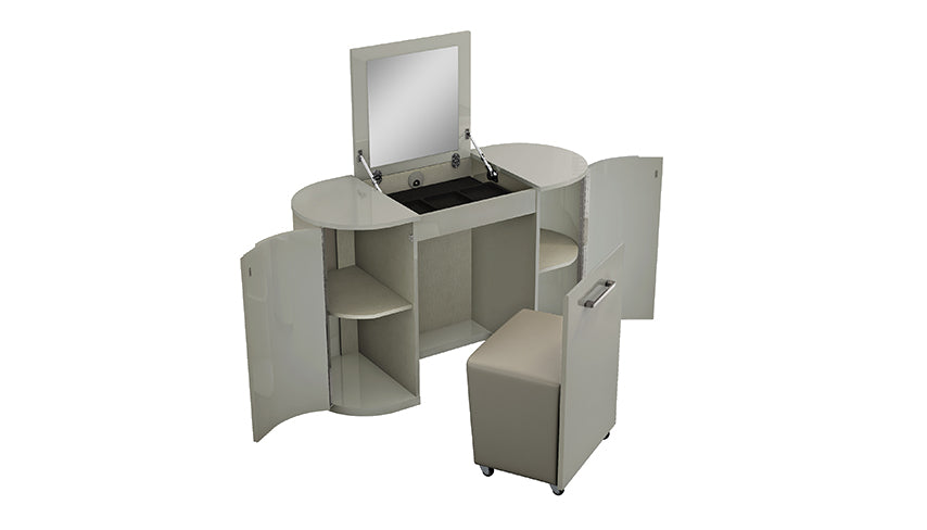Kiera Vanity Unit with Stool