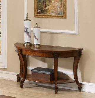 York Circular End Table