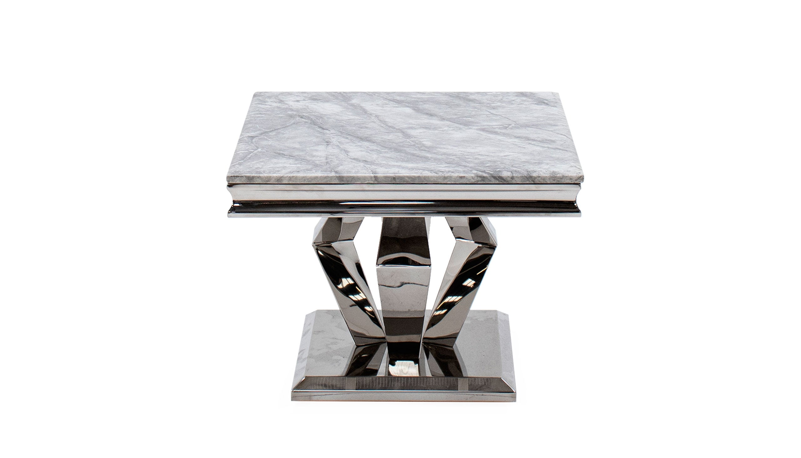 Amour Marble Side Table - AHF Furniture & Carpets
