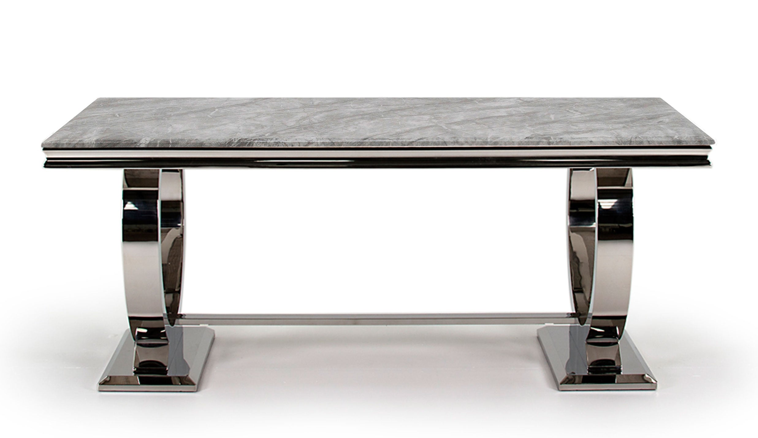 Romance Grey 1.8m Dining Table - AHF Furniture & Carpets