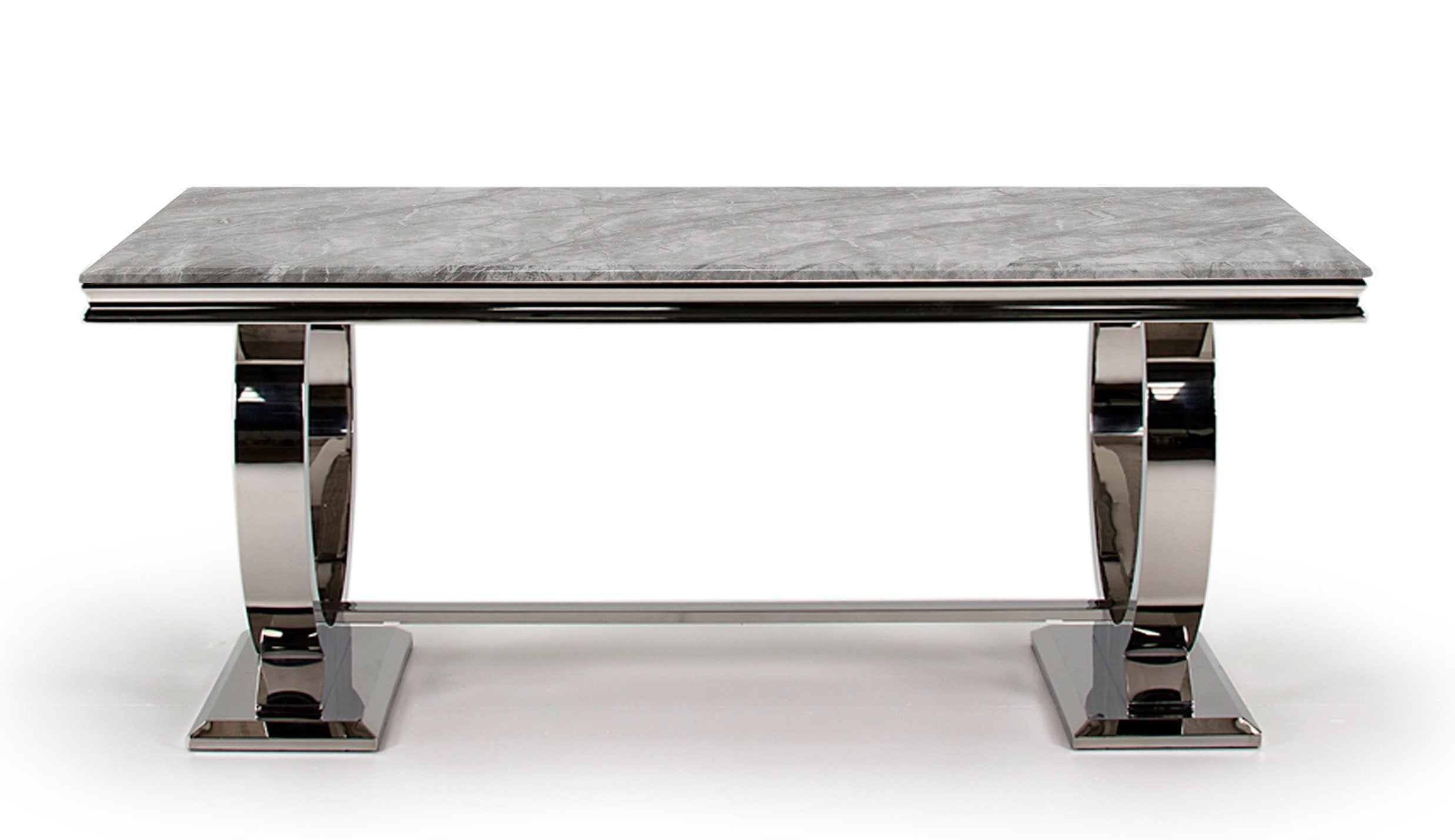 Romance Grey 2m Dining Table - AHF Furniture & Carpets