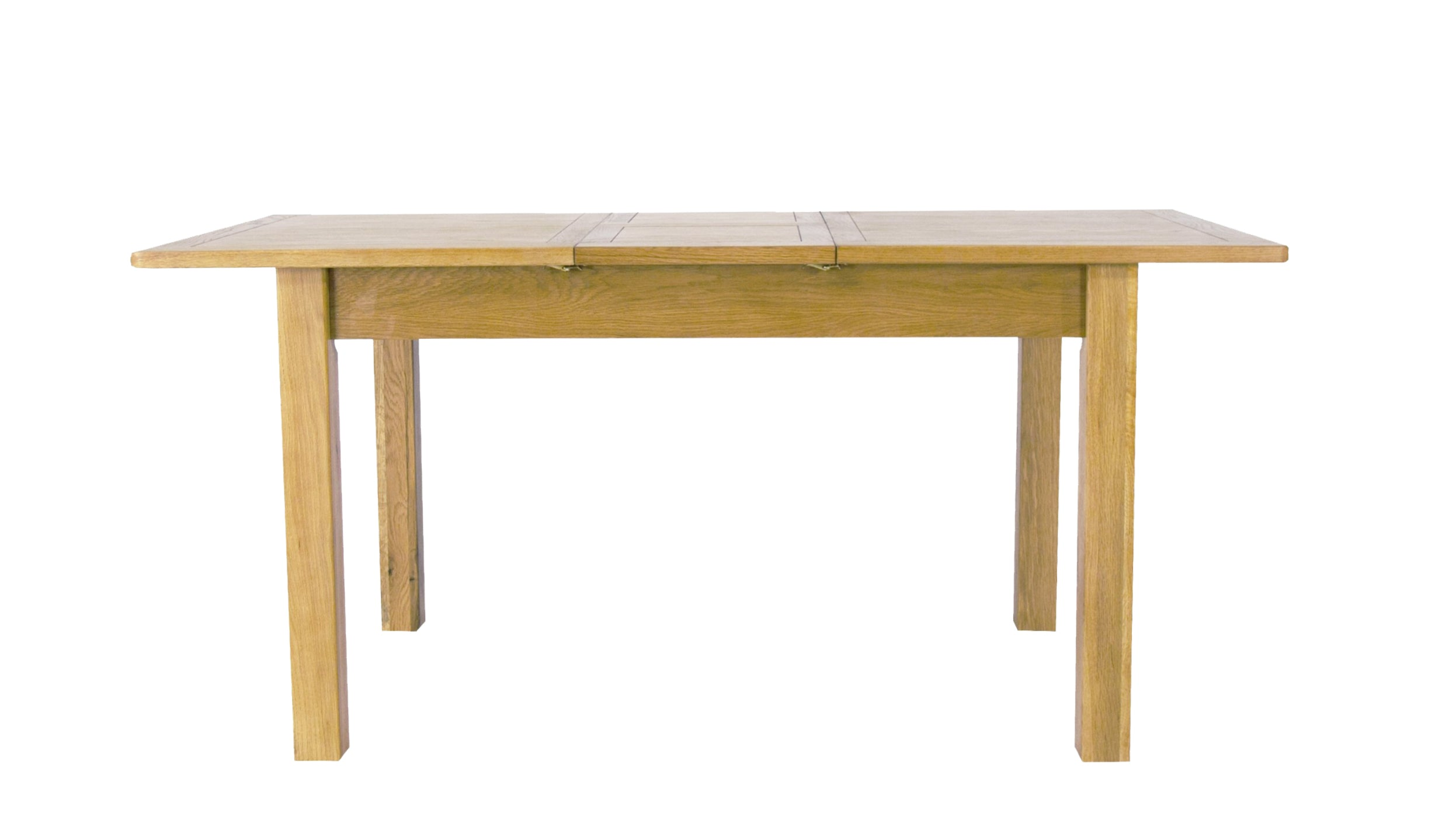 Arlington Oak Extending Dining Table - AHF Furniture & Carpets
