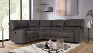 Barcelona Right Hand Facing Recliner Corner Sofa