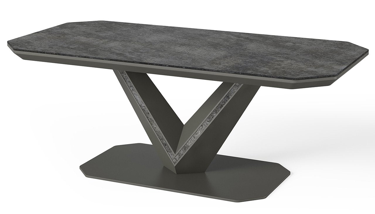 Orlando Ceramic Coffee Table - AHF Furniture & Carpets
