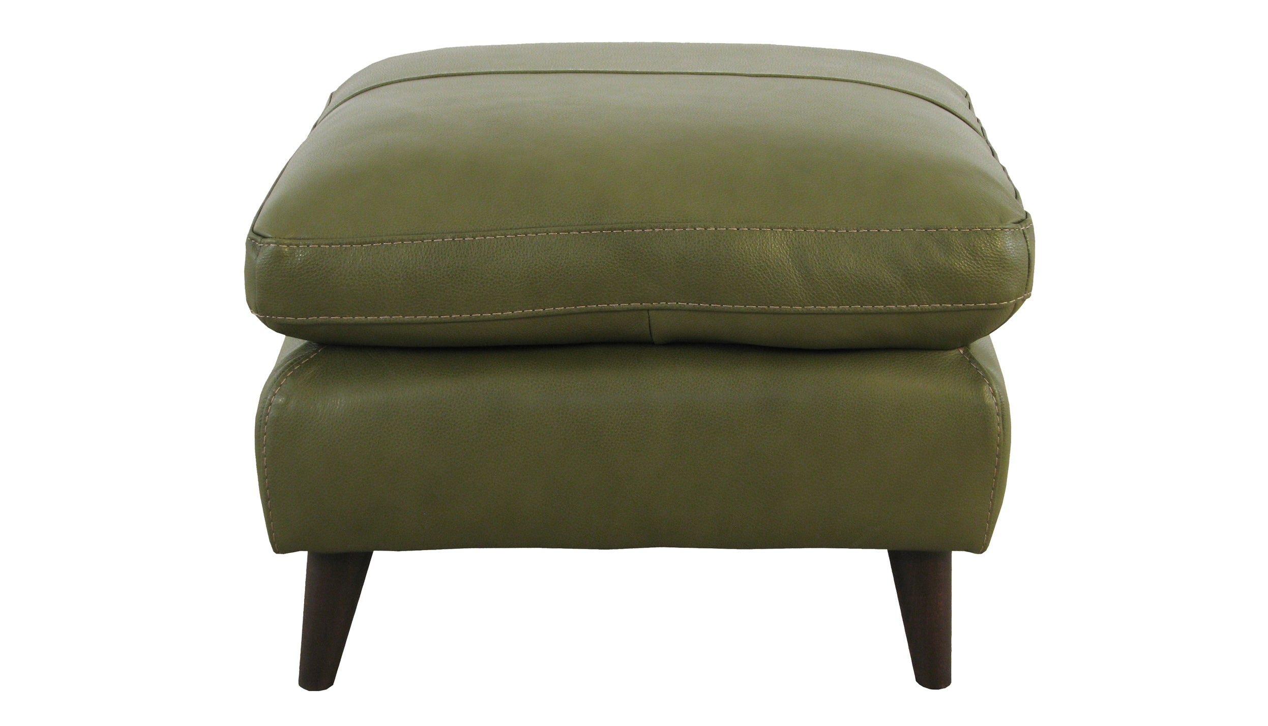 Betty Banquette Footstool in Leather - AHF Furniture & Carpets