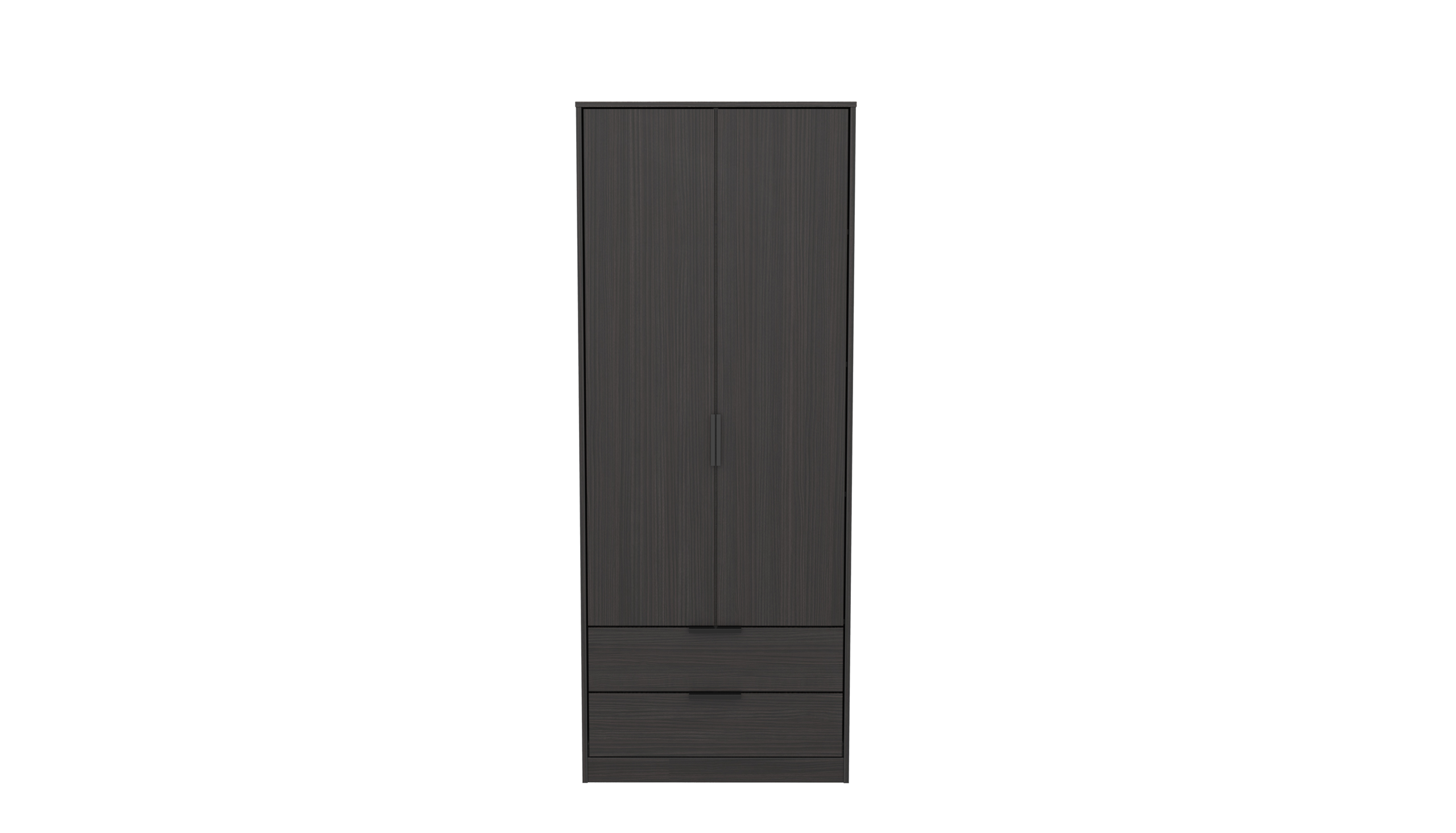 Astra 2 Drawer Wardrobe
