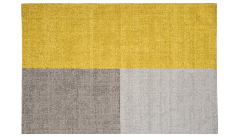 Blox Mustard Rug - AHF Furniture & Carpets