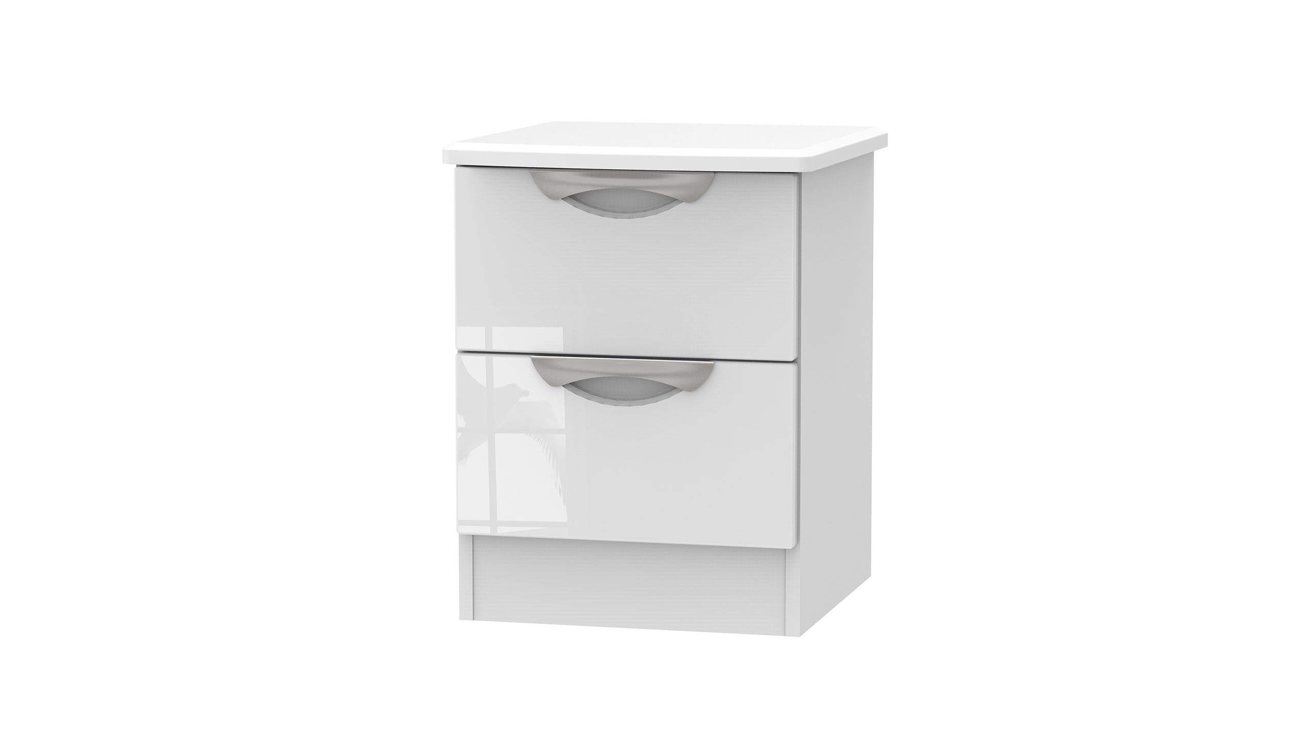 Moda 2 Drawer Bedside Chest - AHF Furniture & Carpets