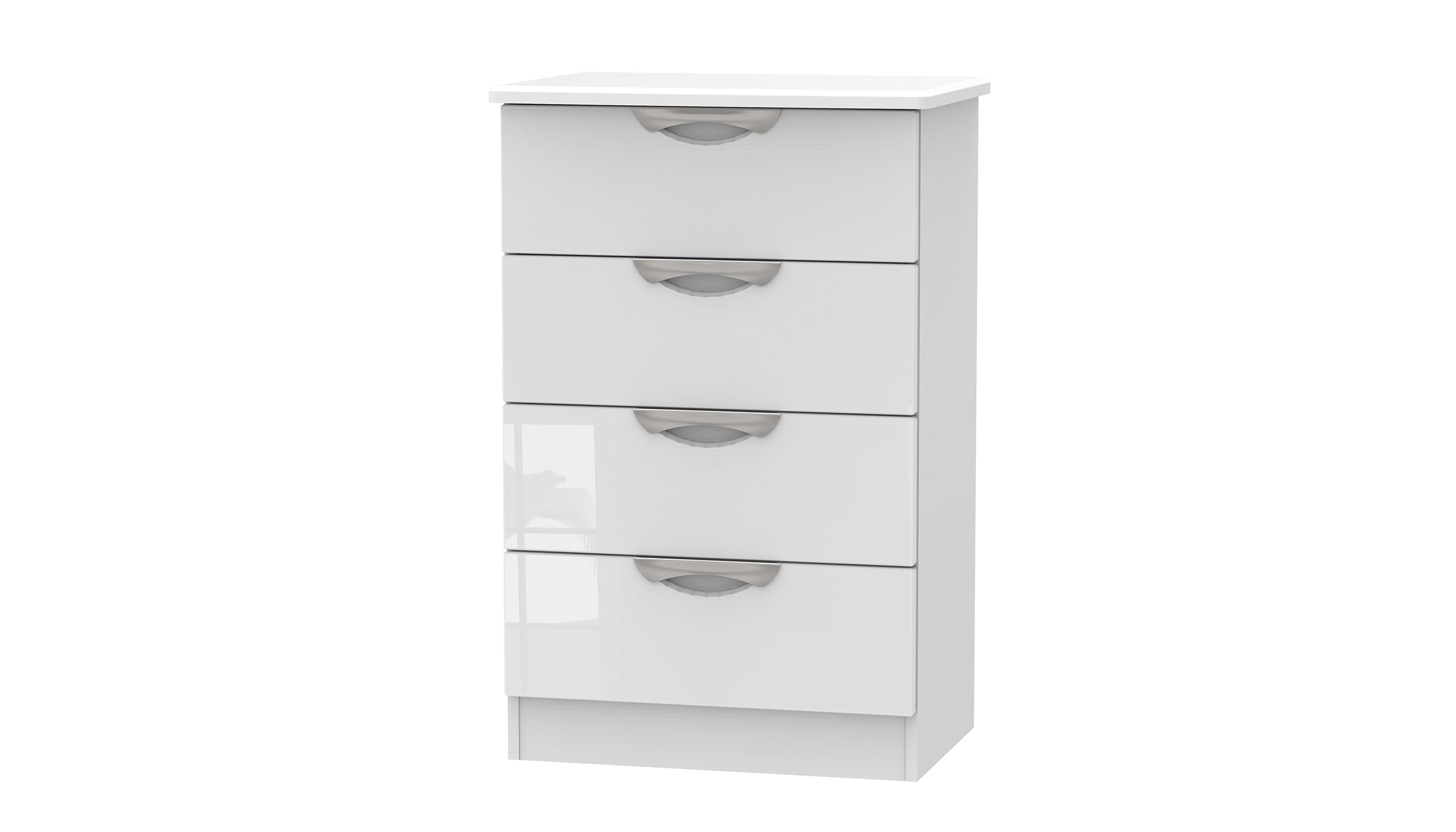 Moda 4 Drawer Midi Chest - AHF Furniture & Carpets