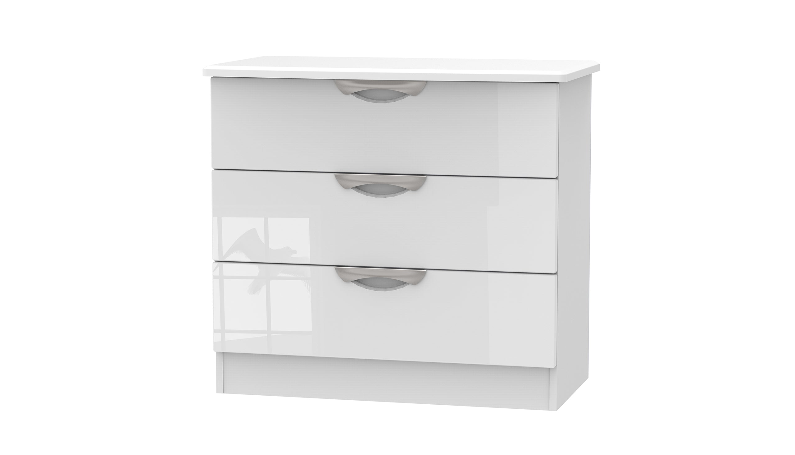 Moda 3 Drawer Chest - AHF Furniture & Carpets