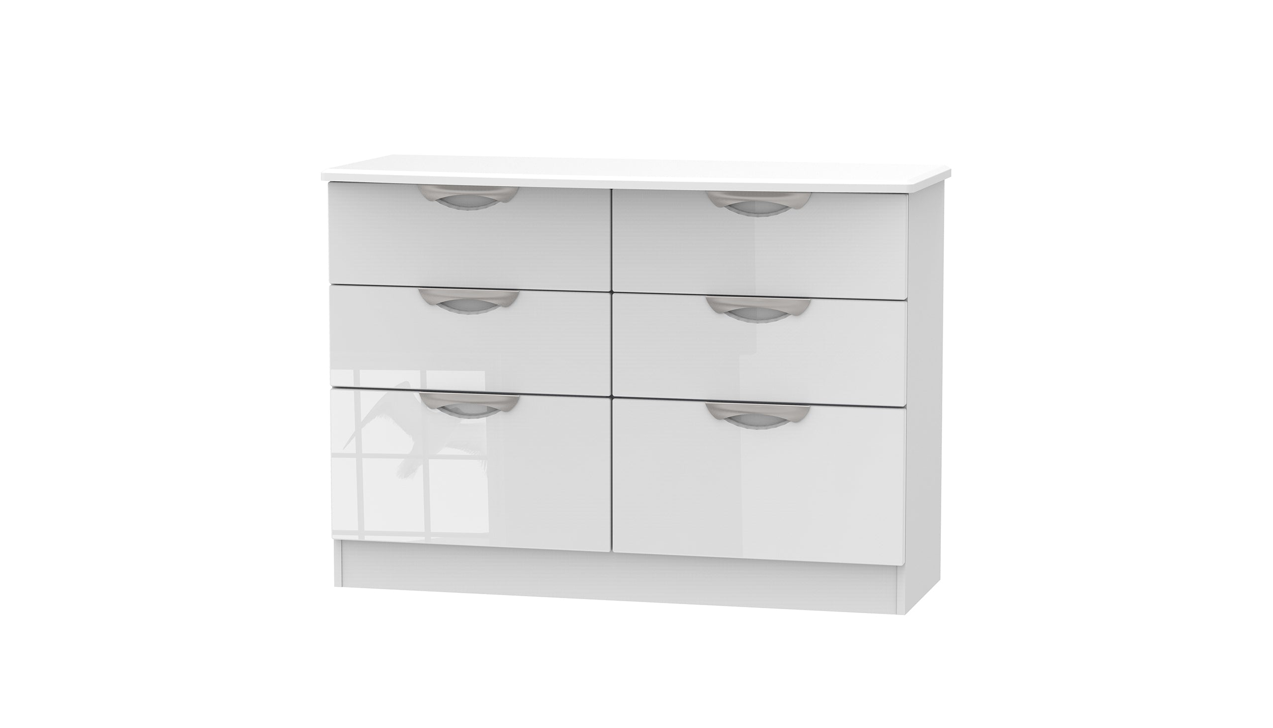 Moda 6 Drawer Wide Chest - AHF Furniture & Carpets