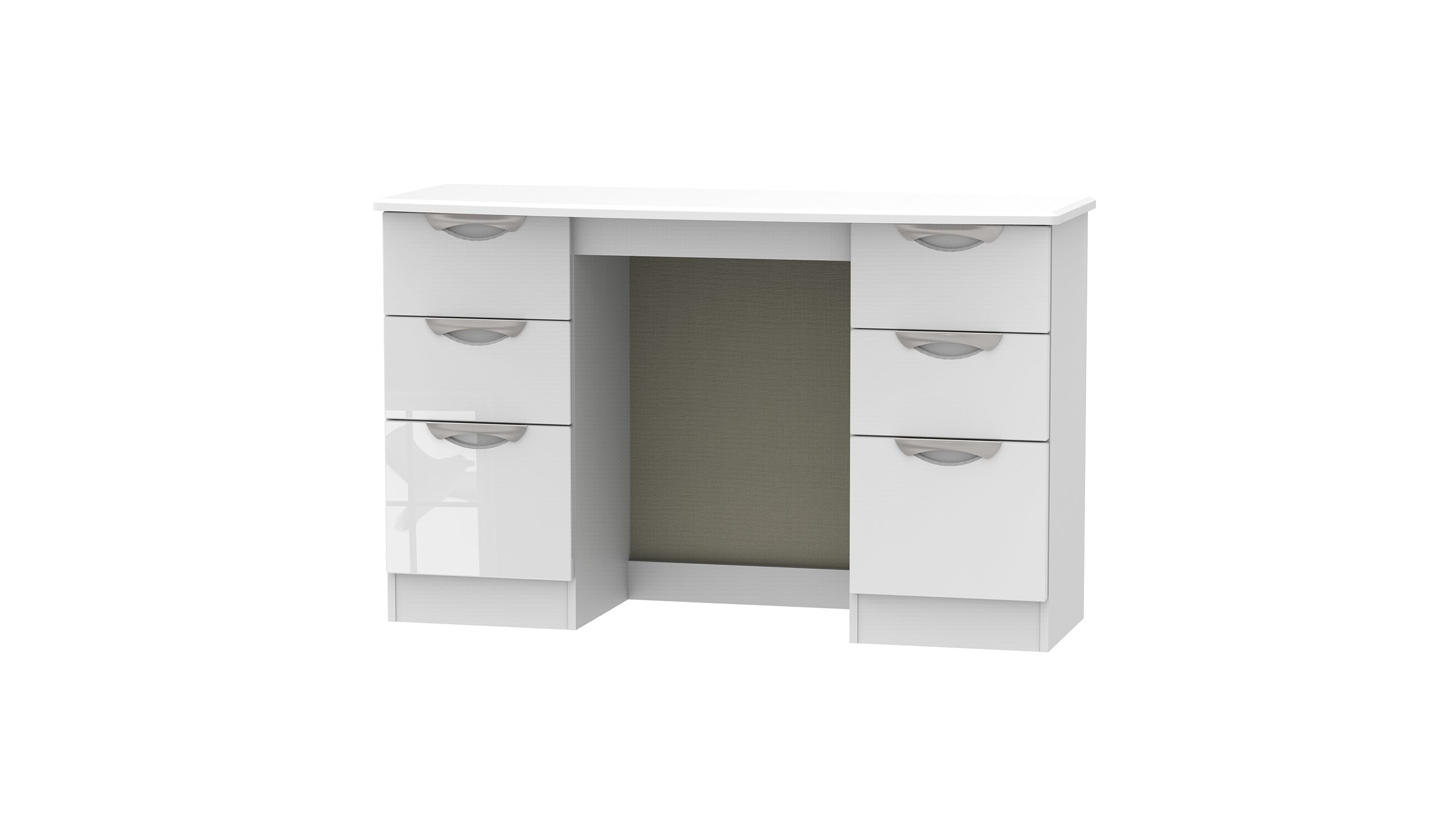 Moda 6 Drawer Dressing Table - AHF Furniture & Carpets