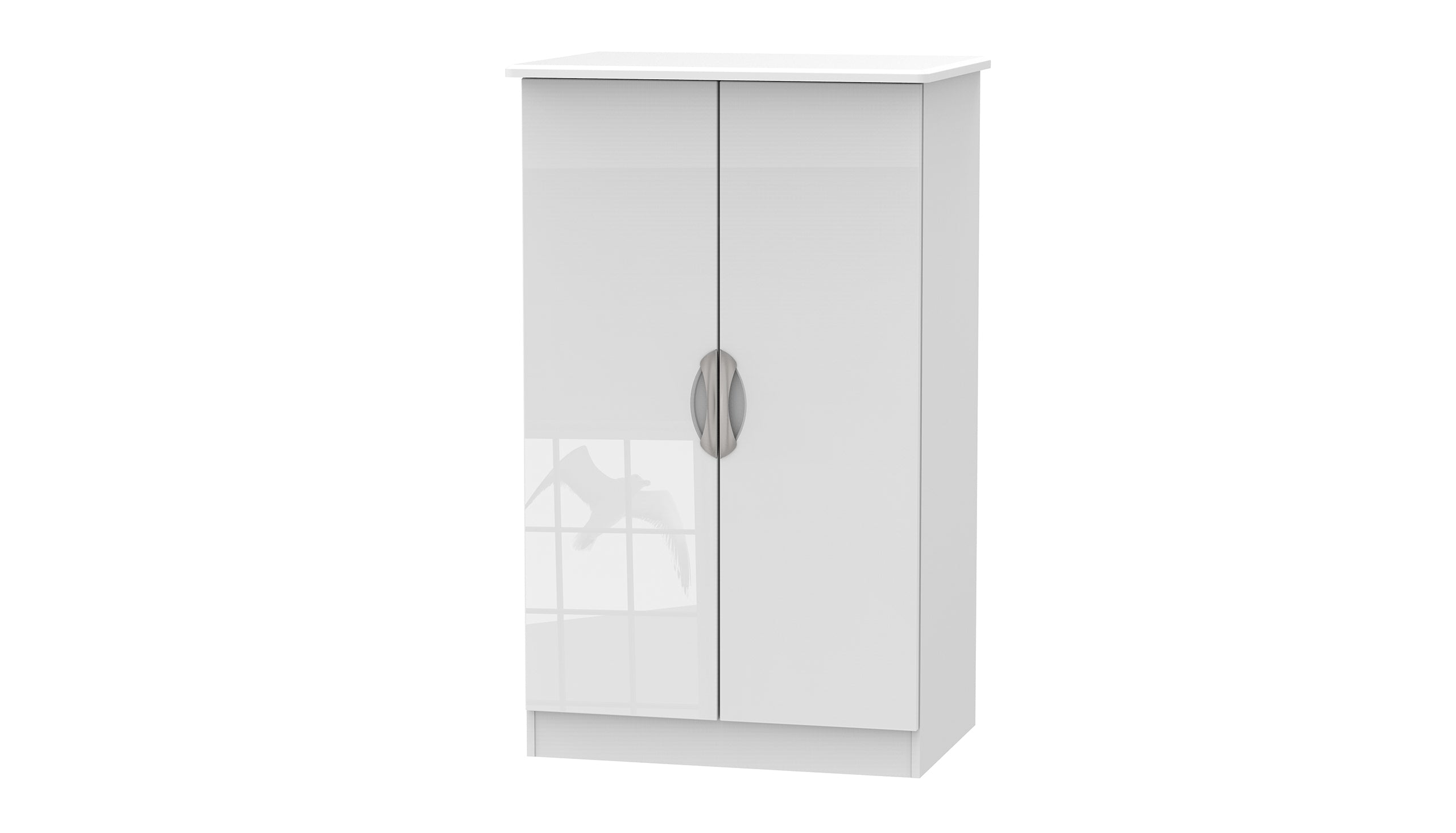 Moda Double Midi Wardrobe - AHF Furniture & Carpets