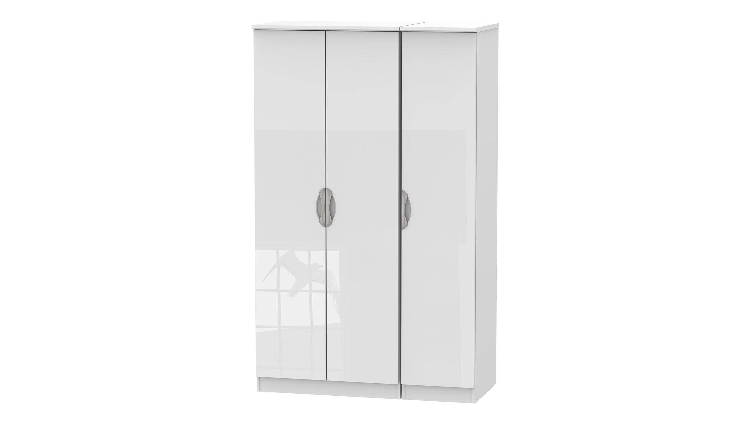 Moda 3 Door Wardrobe - AHF Furniture & Carpets