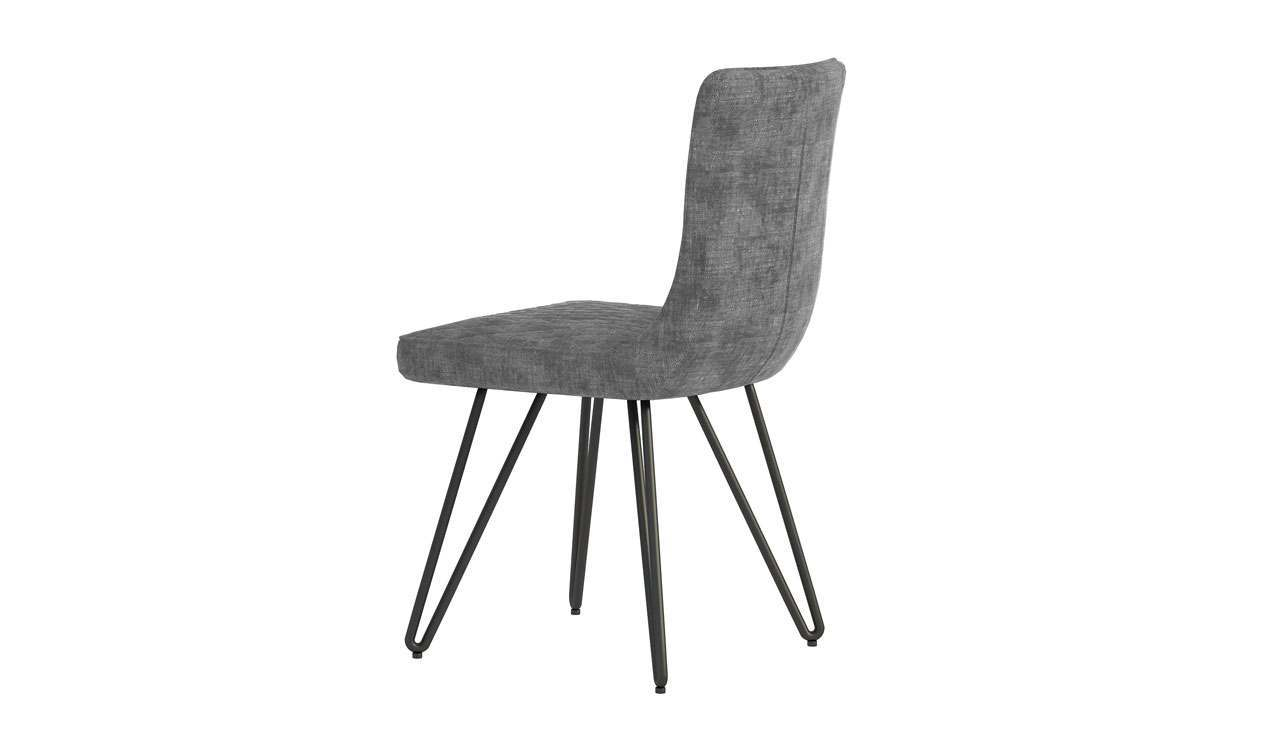 Brooklyn Oak Grey Dining Chair - AHF Furniture & Carpets