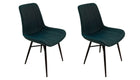 Pair of Croft Dining Chairs - AHF Furniture & Carpets