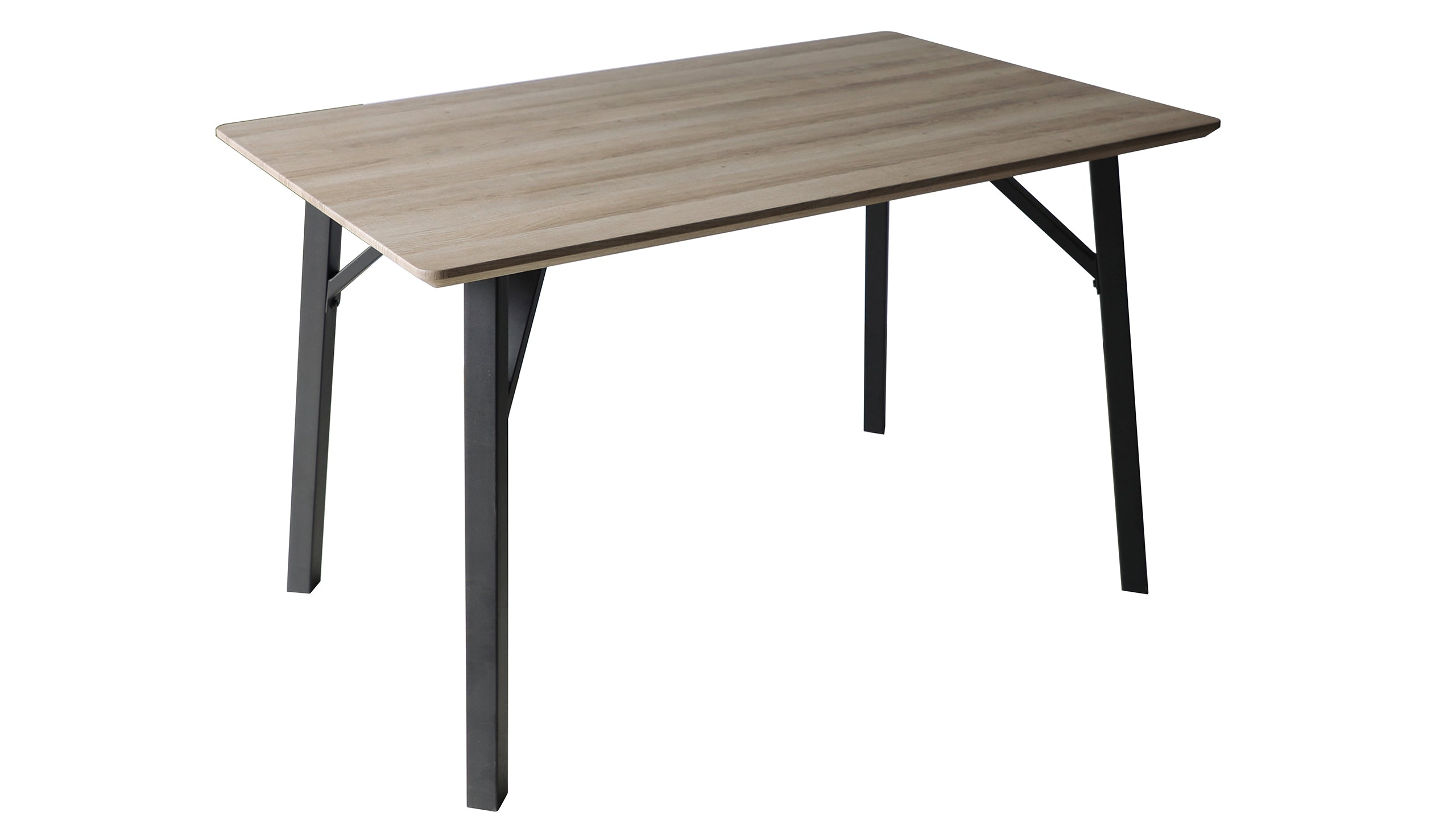 Tetro Grey Wood Effect Dining Table - AHF Furniture & Carpets