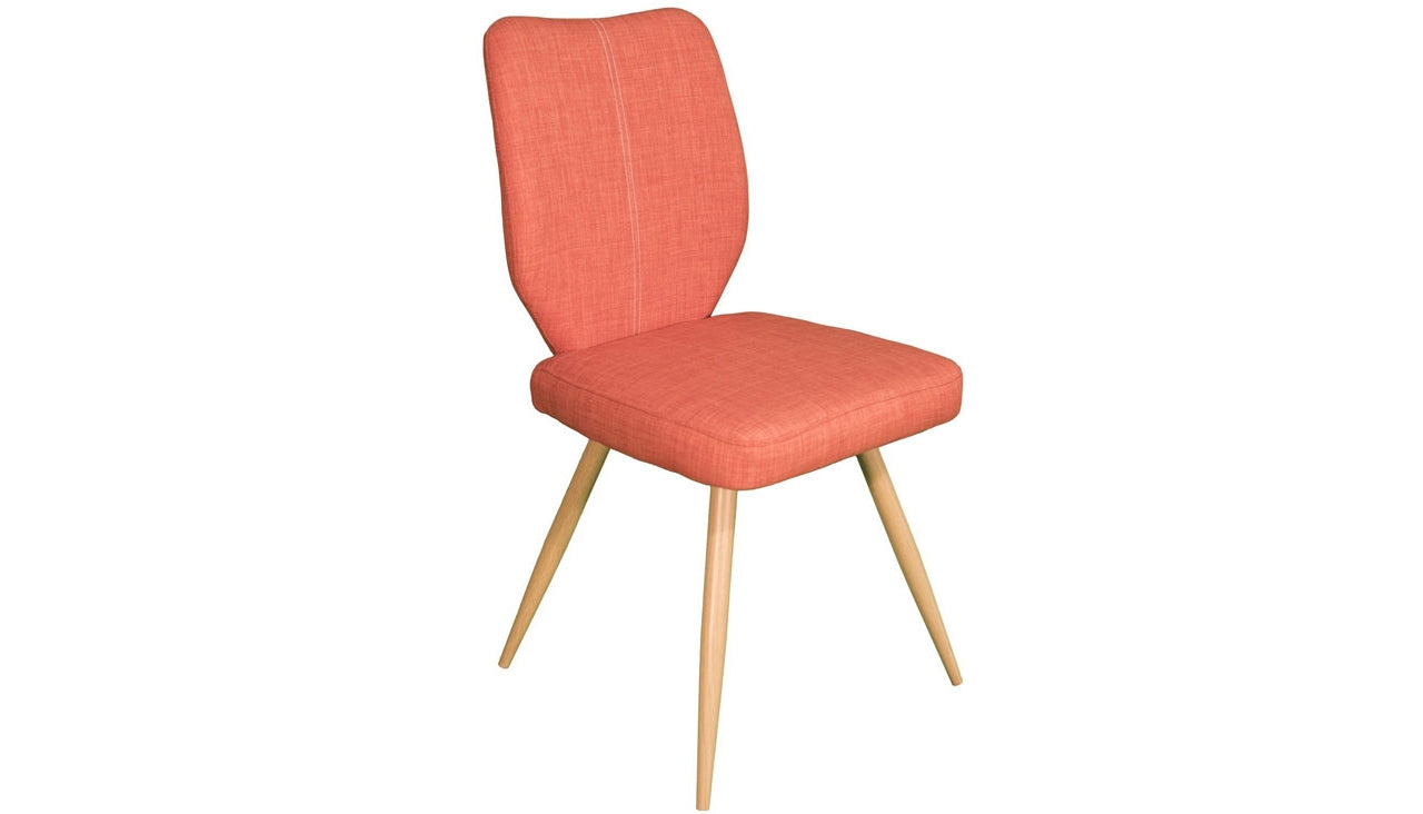 Enka Dining Chair in Orange