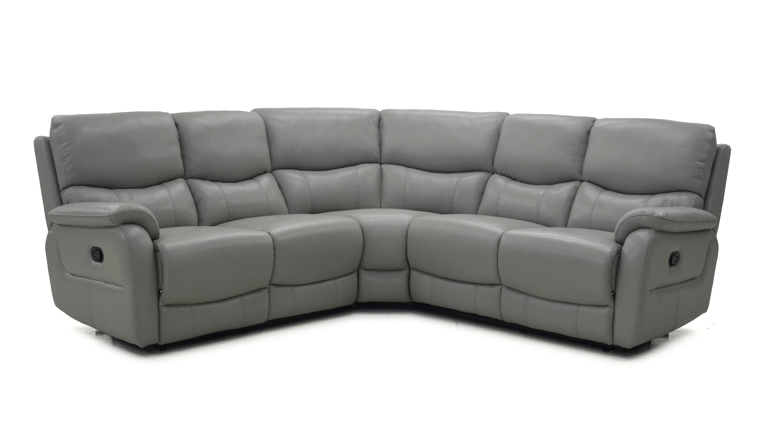 Evelyn Large Power Corner Sofa in Leather - AHF Furniture & Carpets