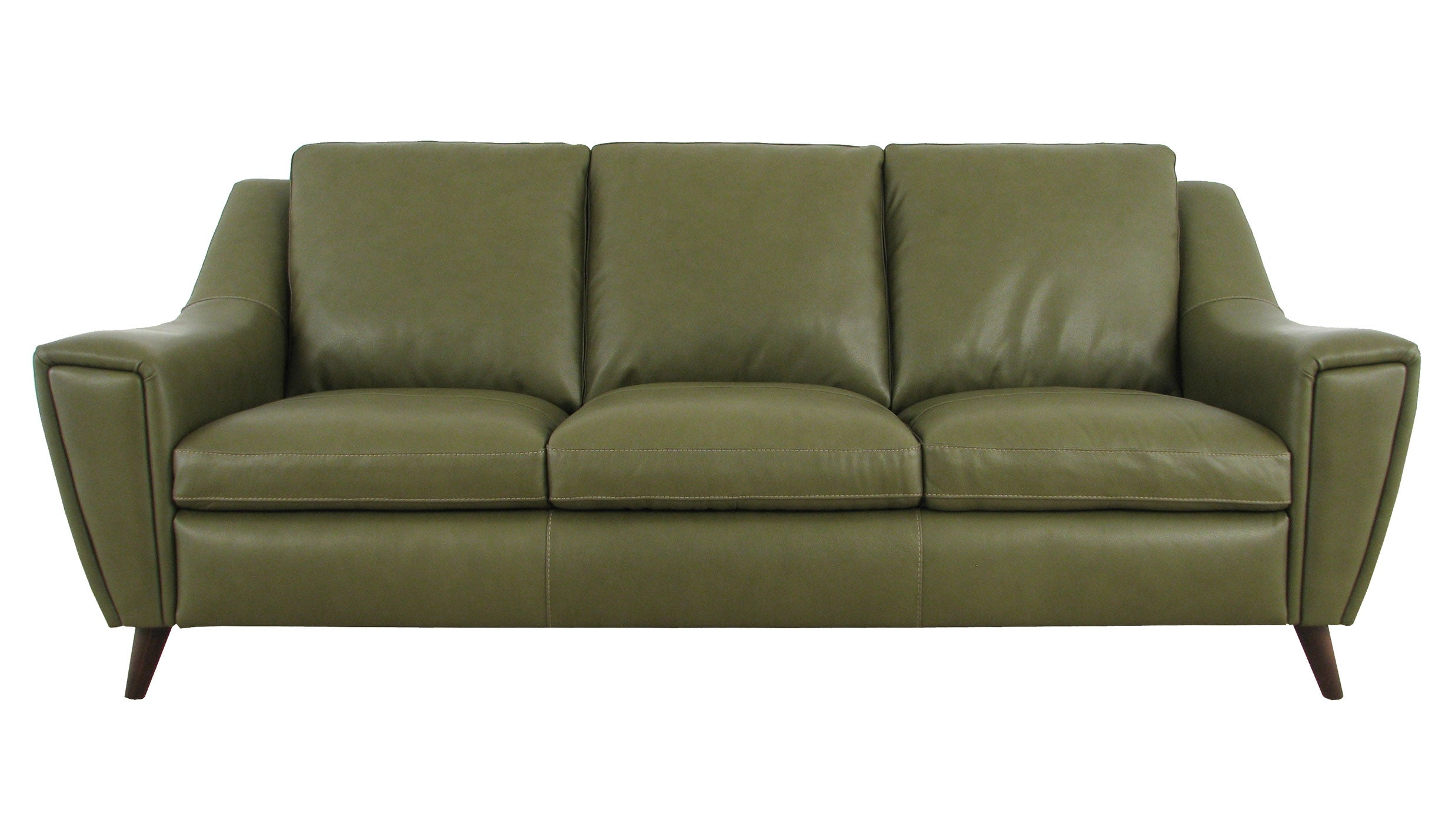 Betty 3 Seater Sofa in Leather - AHF Furniture & Carpets