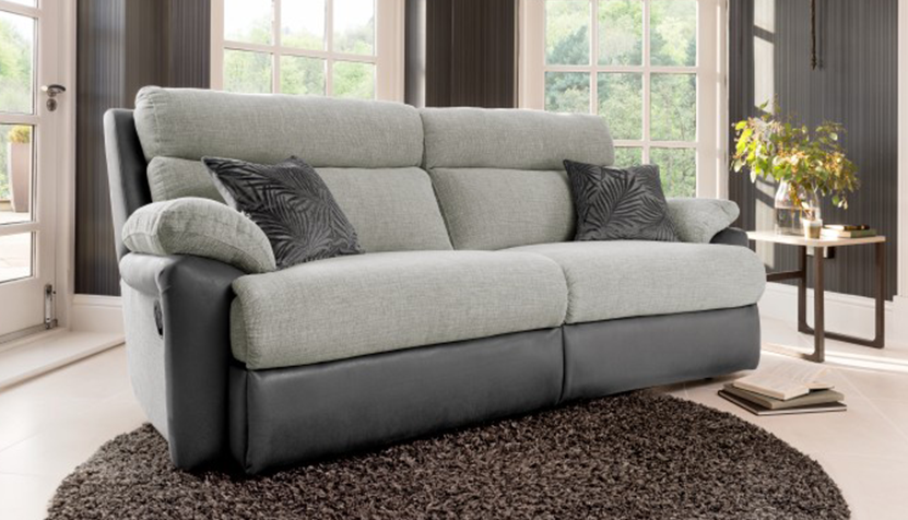 Freya 3 Seater Power Recliner Sofa