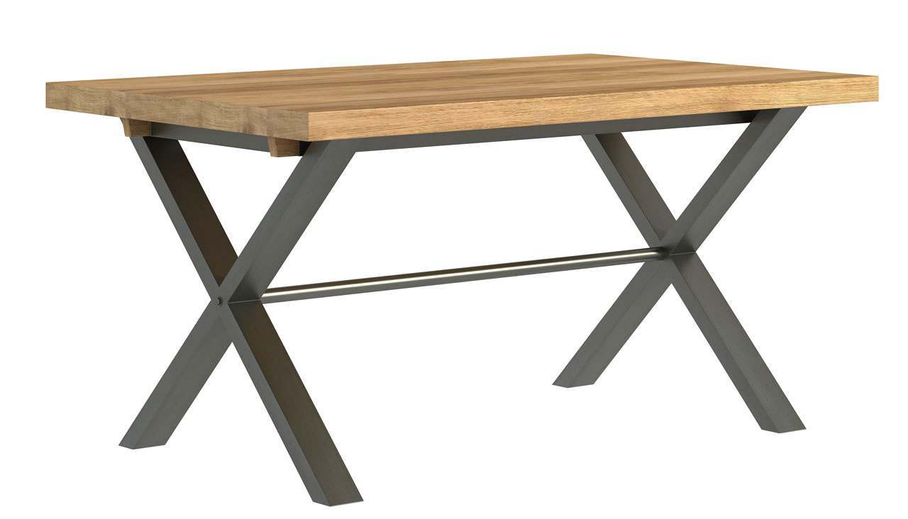 Brooklyn Oak Small Dining Table - AHF Furniture & Carpets