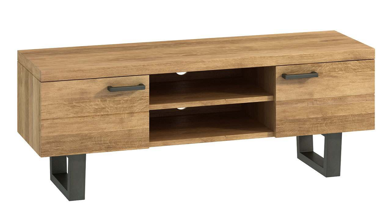 Brooklyn Oak TV Unit - AHF Furniture & Carpets