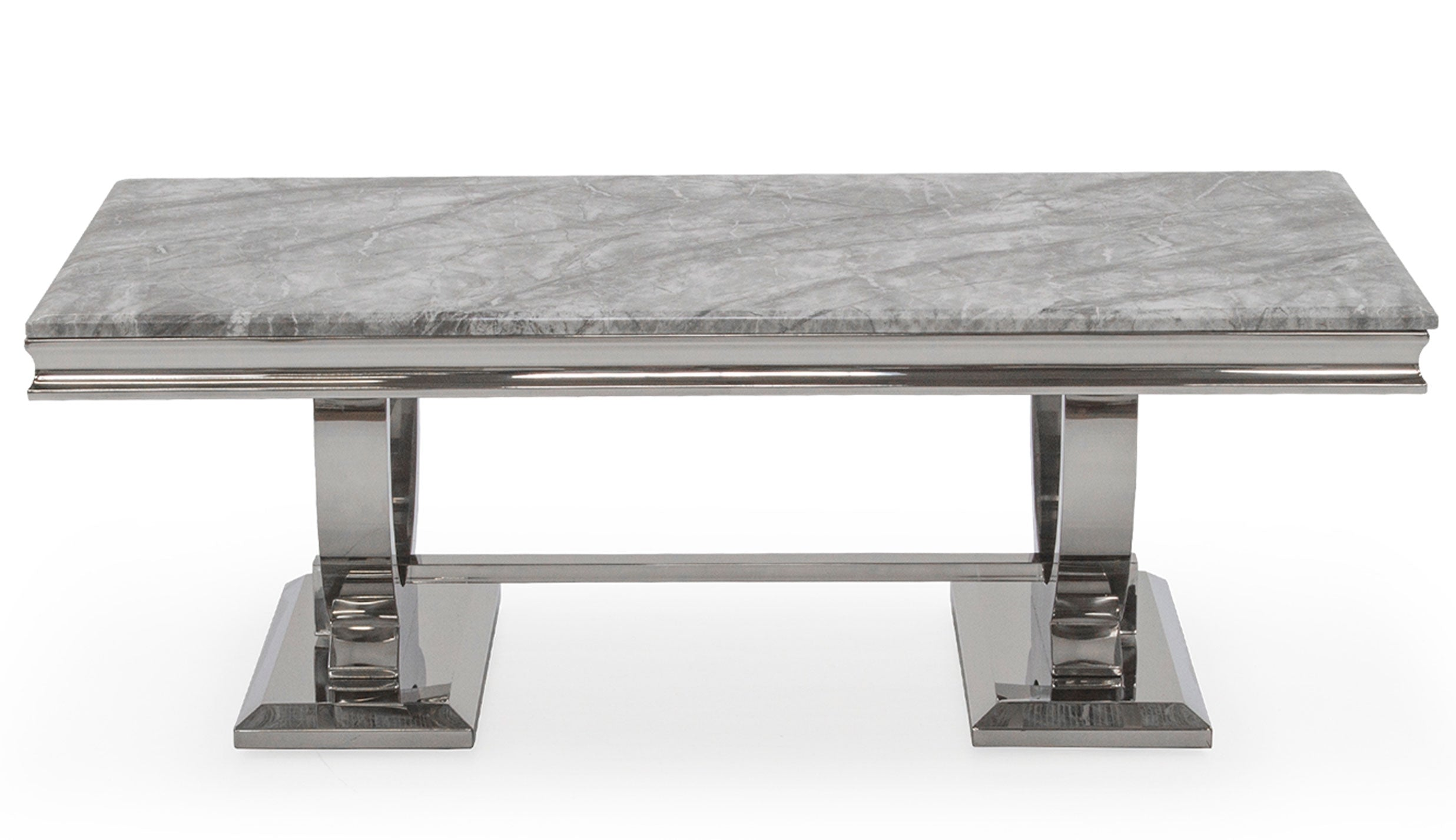 Romance Grey Coffee Table - AHF Furniture & Carpets