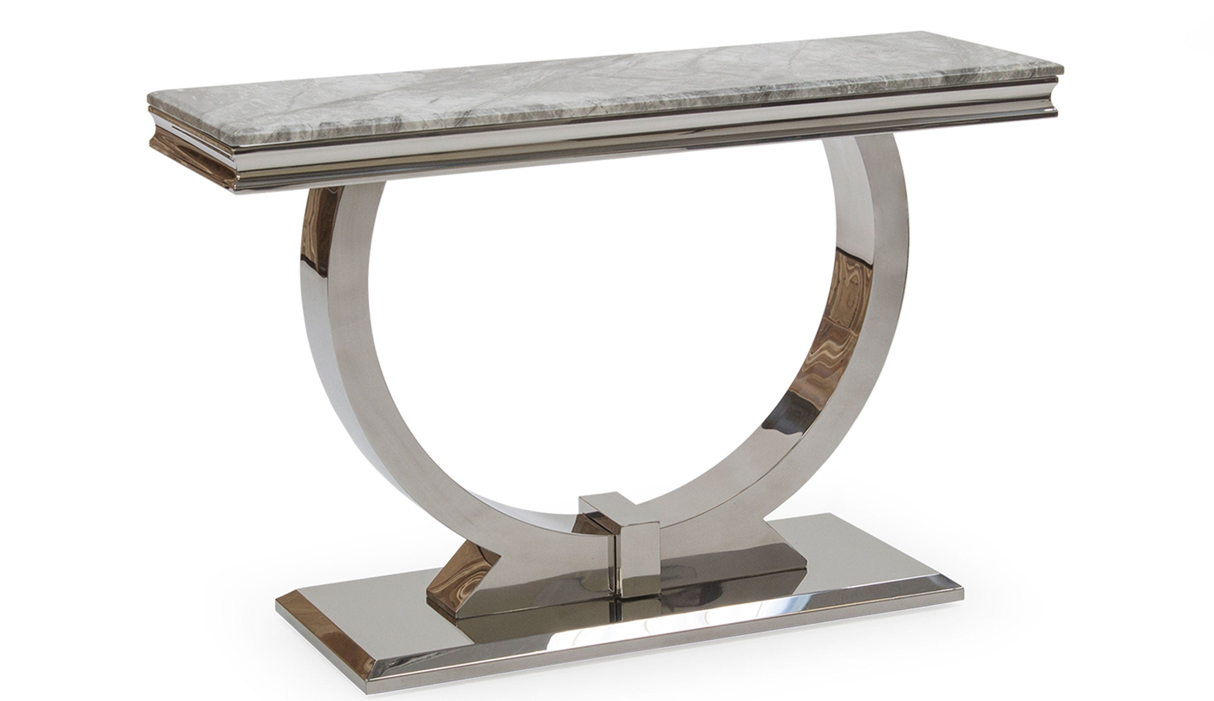 Romance Grey Console Table - AHF Furniture & Carpets
