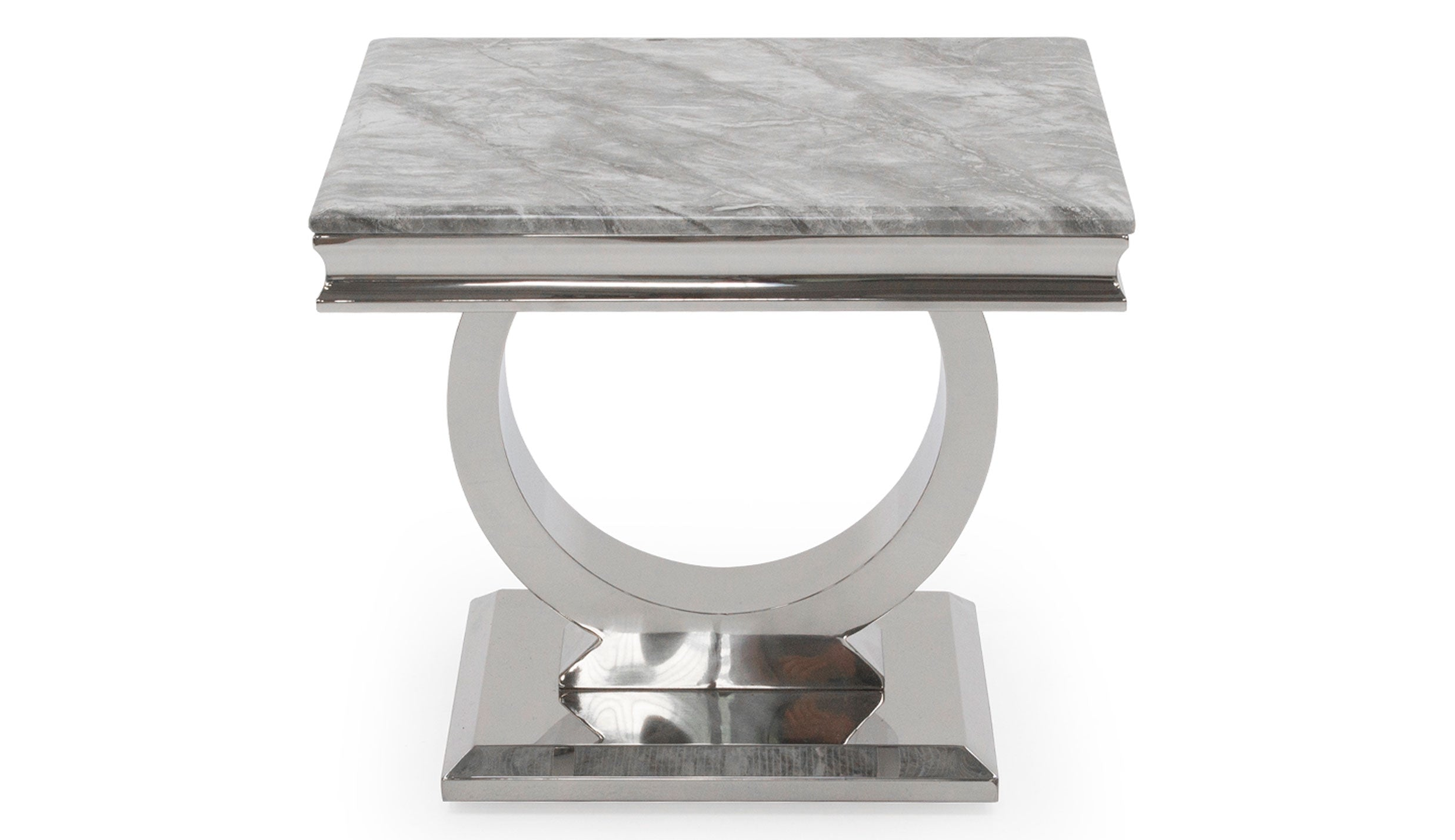 Romance Grey Lamp Table - AHF Furniture & Carpets