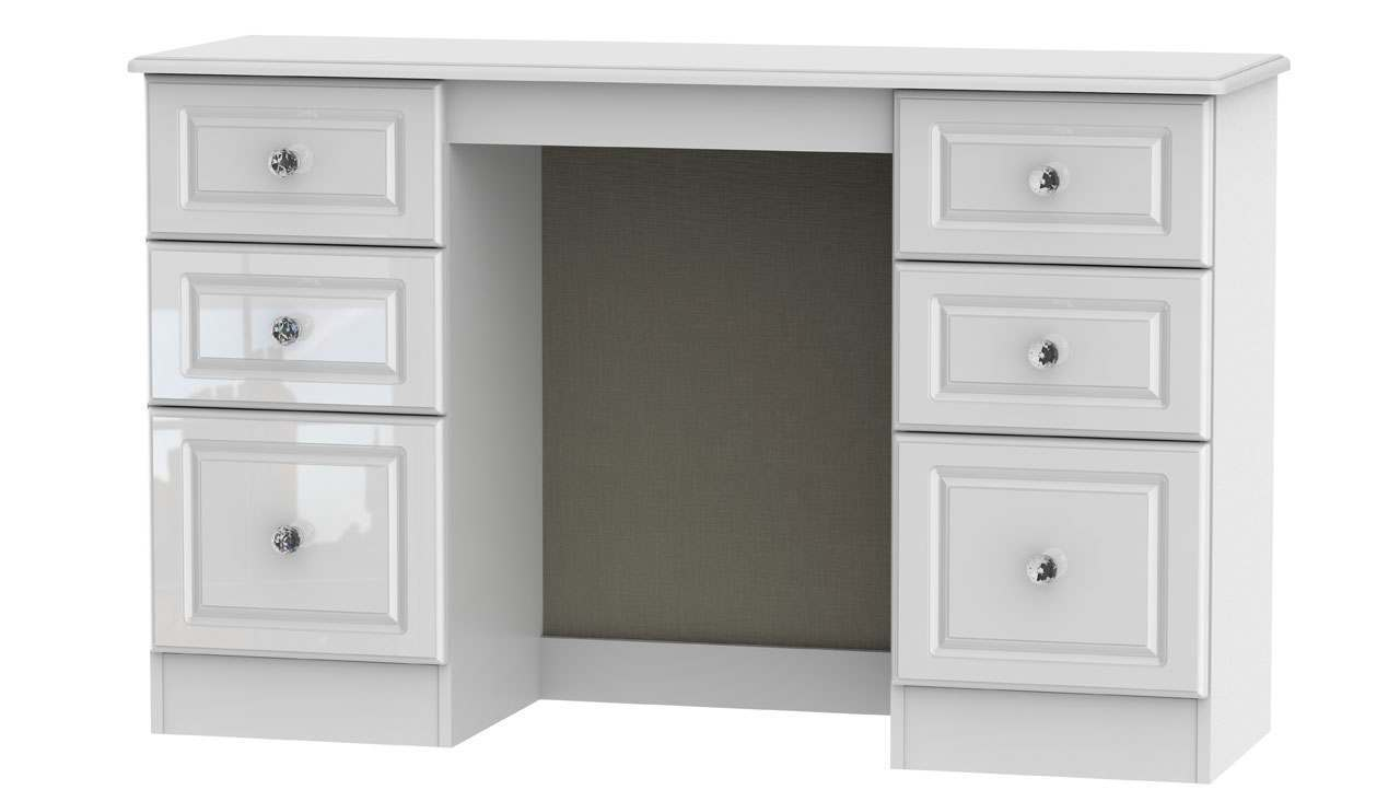 Ferndale 6 Drawer Dressing Table - AHF Furniture & Carpets