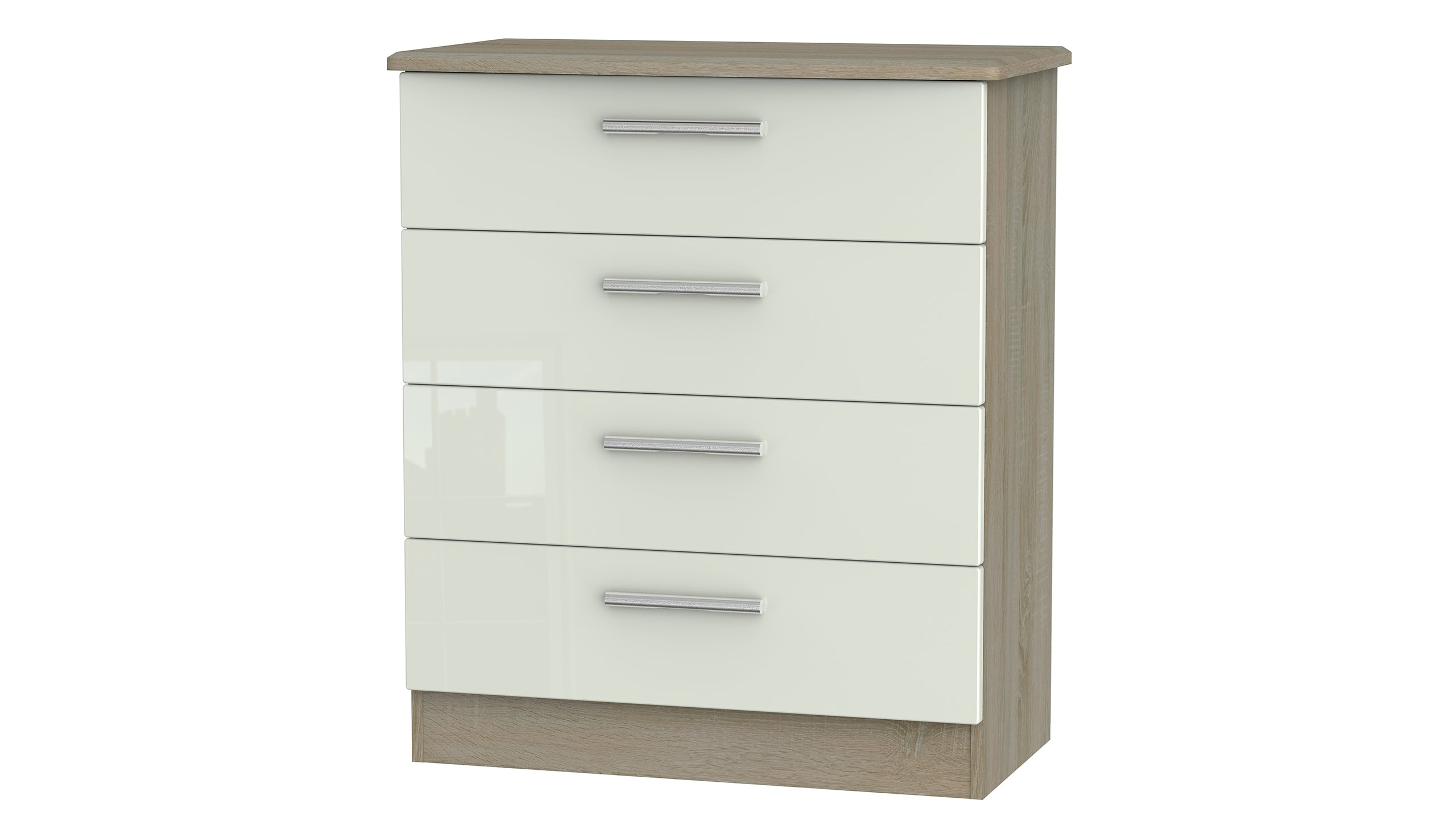 Burnham 4 drawer chest of drawers - AHF Furniture & Carpets