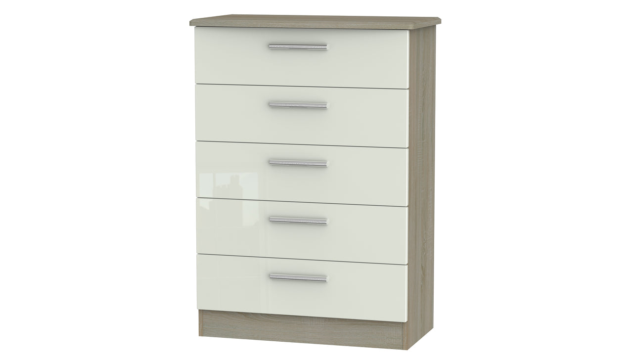 Burnham 5 drawer chest