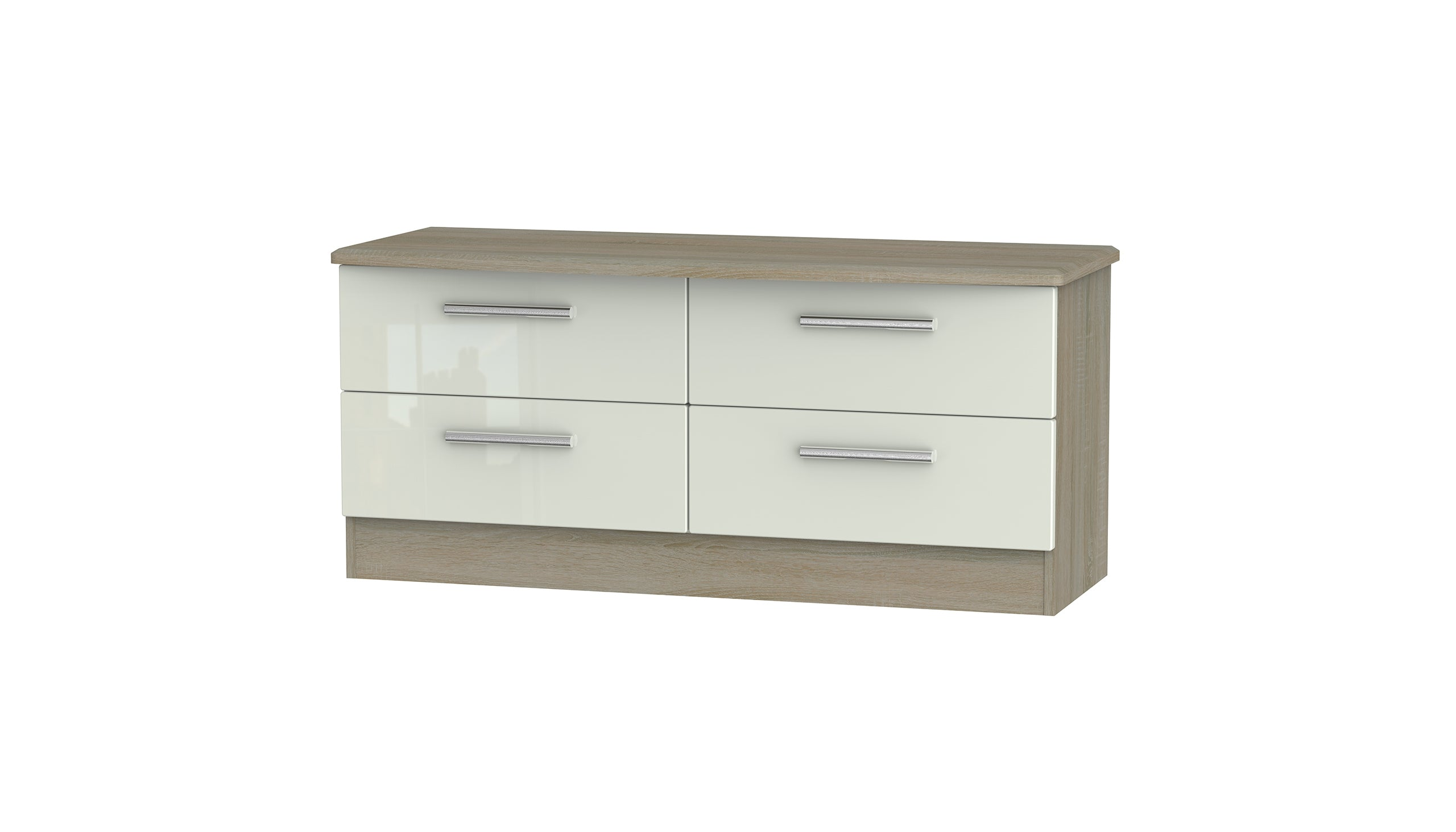 Burnham 4 drawer bed box - AHF Furniture & Carpets