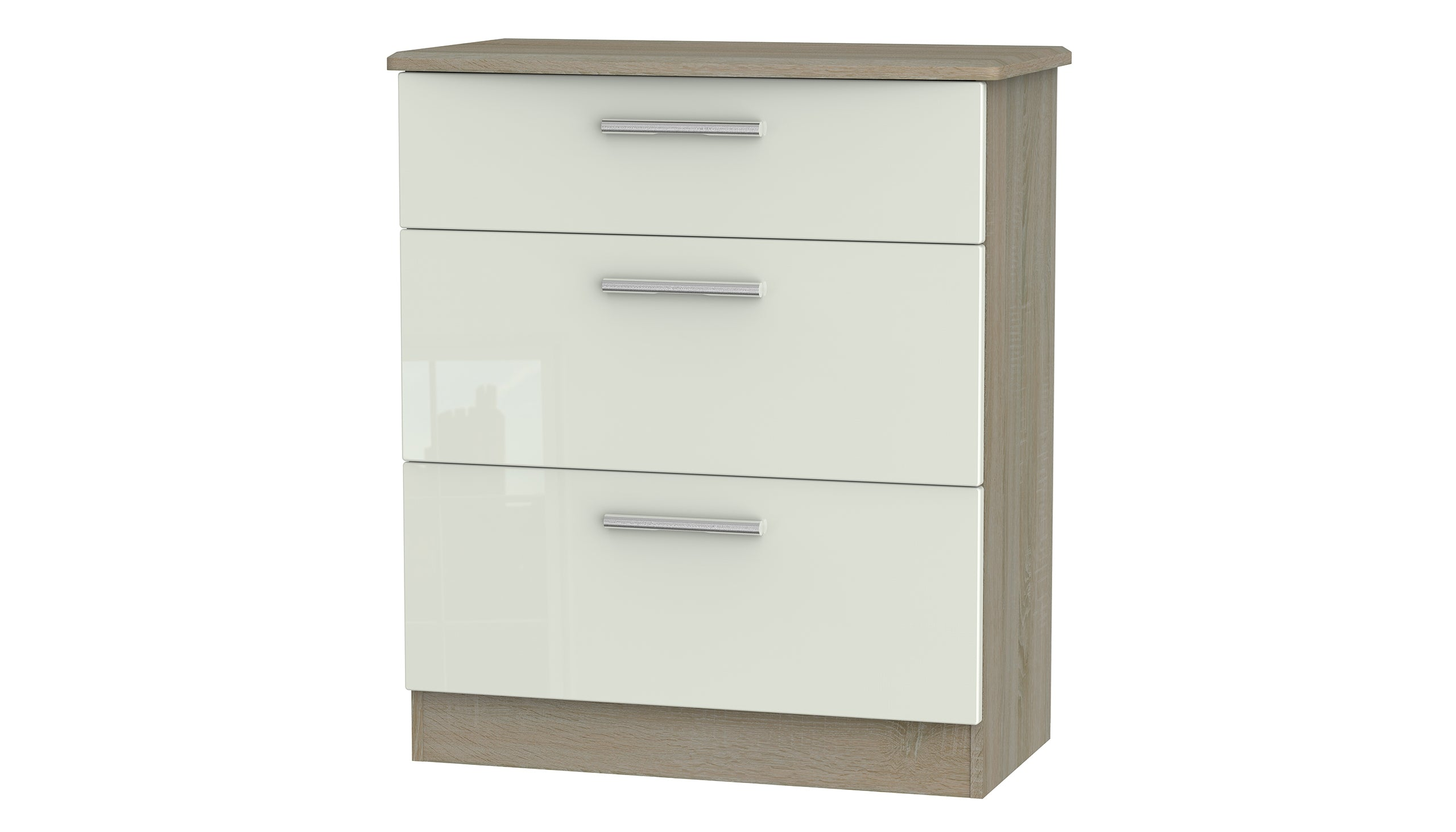 Burnham 3 drawer deep chest - AHF Furniture & Carpets