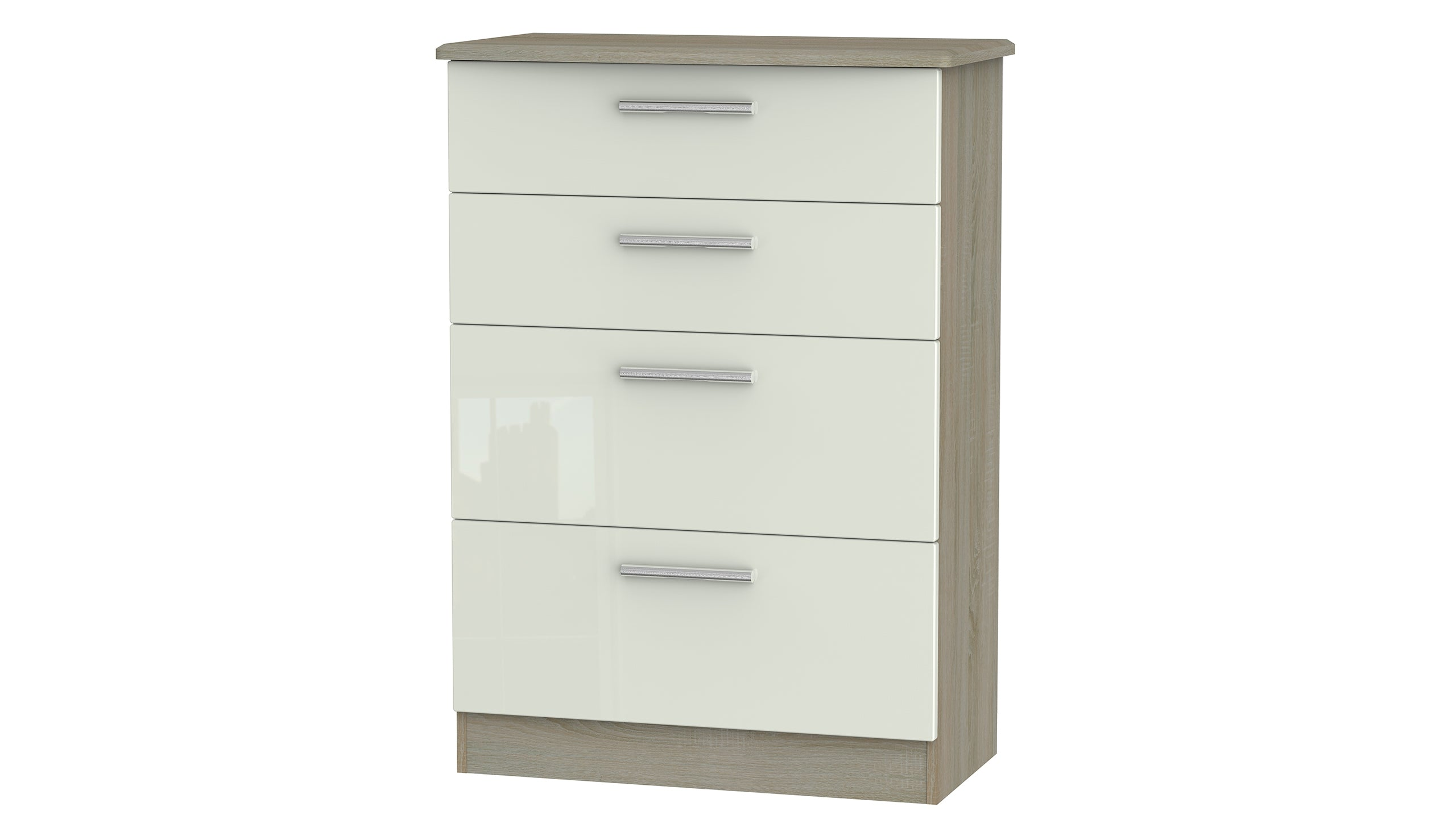 Burnham 4 drawer deep chest - AHF Furniture & Carpets