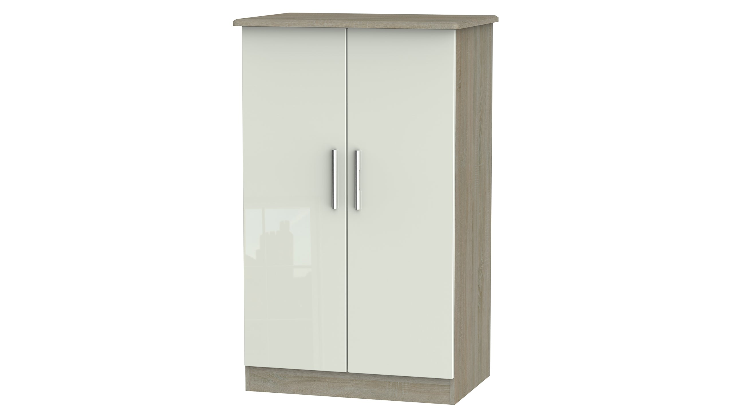 Burnham double midi wardrobe - AHF Furniture & Carpets